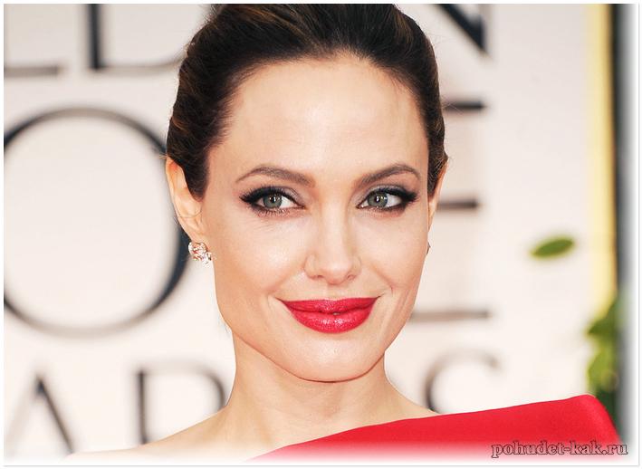 Диета Анджолины Джоли для похудения