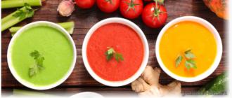Суповая диета диетические супы