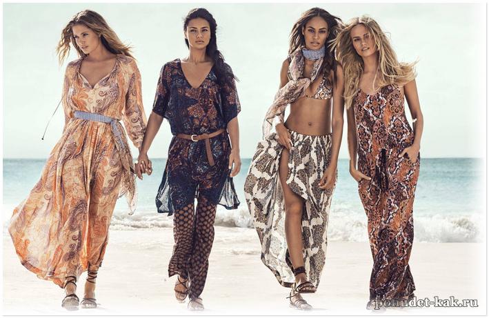 красивая пляжная одежда